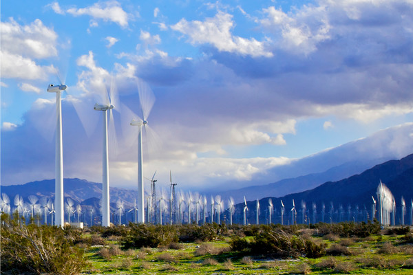 Palm Springs Turbines