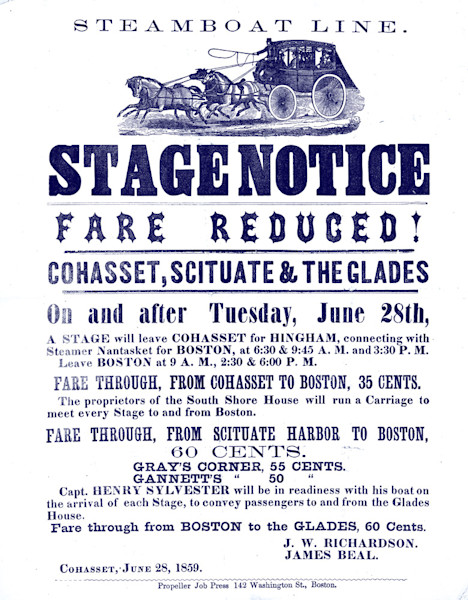 Stage Coach Advertisement