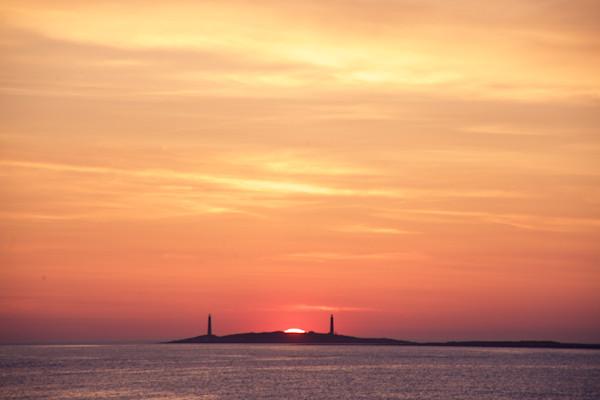Lighthouse, Sunrise, Thacher Island, Twinlights