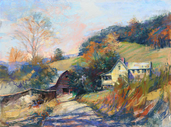 Peace In The Valley - Bill Suttles Fine Art
