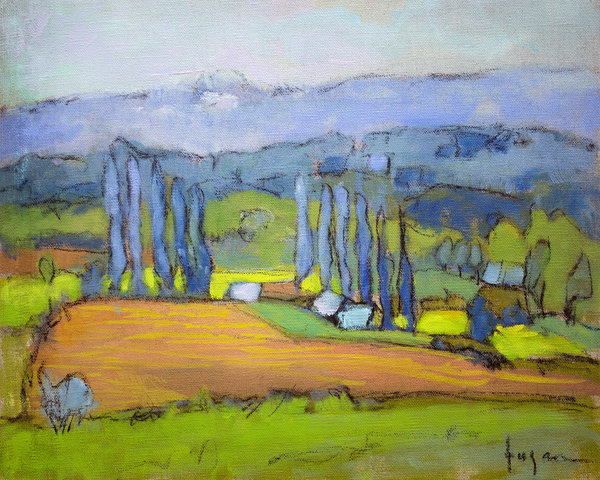 Valle de Liberte 3 | French Landscape Painting
