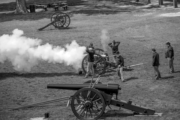 Firing the Cannon One