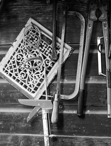 Barn Tools - bw