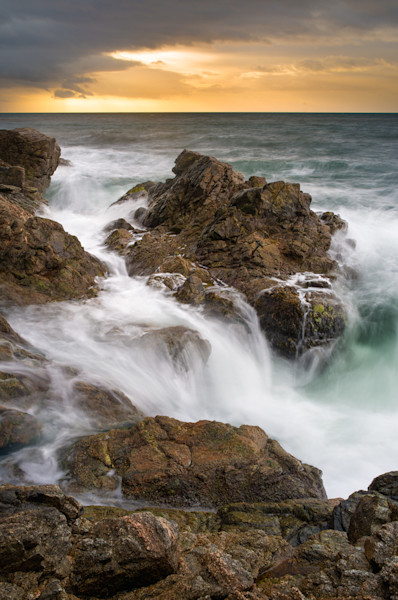 Waves Crashing On Joe Beach