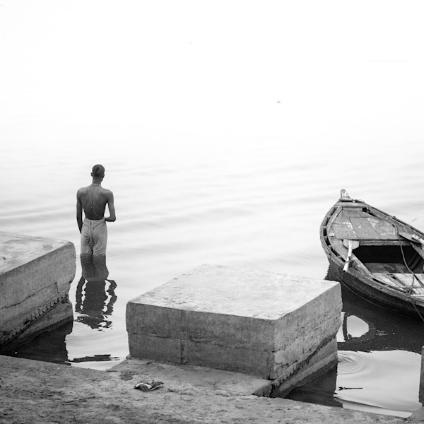 Prayers And A Boat - Varanasi
