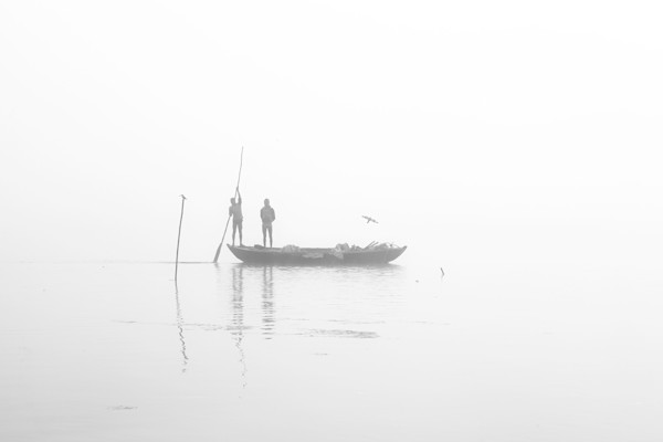 Misty Morning On The Ganges