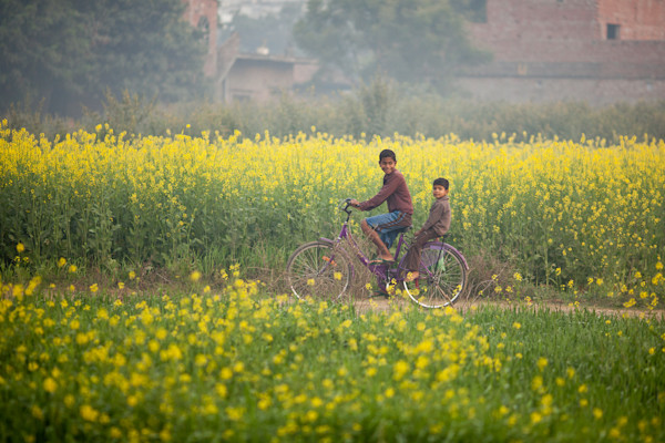 Boys On A Bike - Varanasi