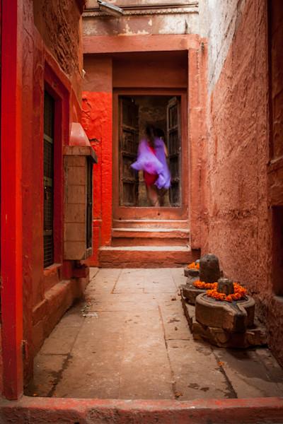 A Sari Escape - Varanasi India