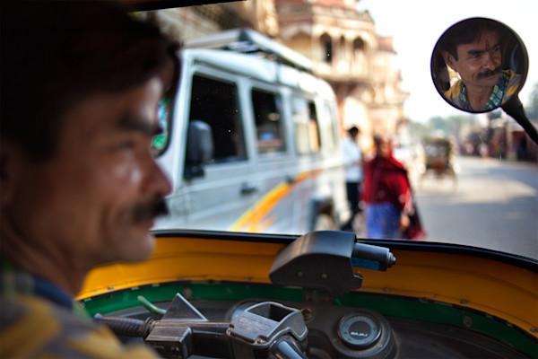 Rickshaw Driver - Varanasi India