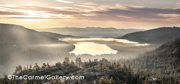 Truckee & Donner Lake by Olof Carmel