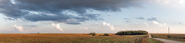 Back Road, the Kansas Flint Hills - color