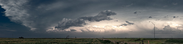 Cloudscape, Western Kansas - color