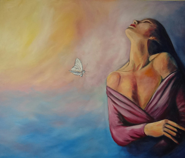 Oil Painting by Retha du Toit at Prophetics Gallery