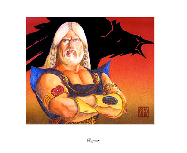 Ragnar Magic the Gathering limited edition print