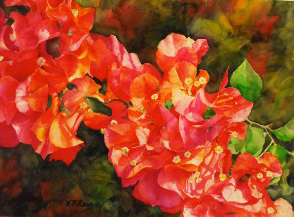 Flower Art - Original Paintings - Fine Art Prints on Canvas, Paper, Metal and More