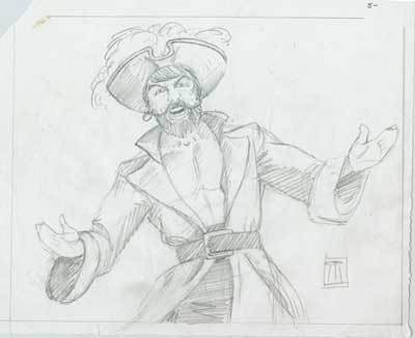 Sketches from 7th Sea & Warlord