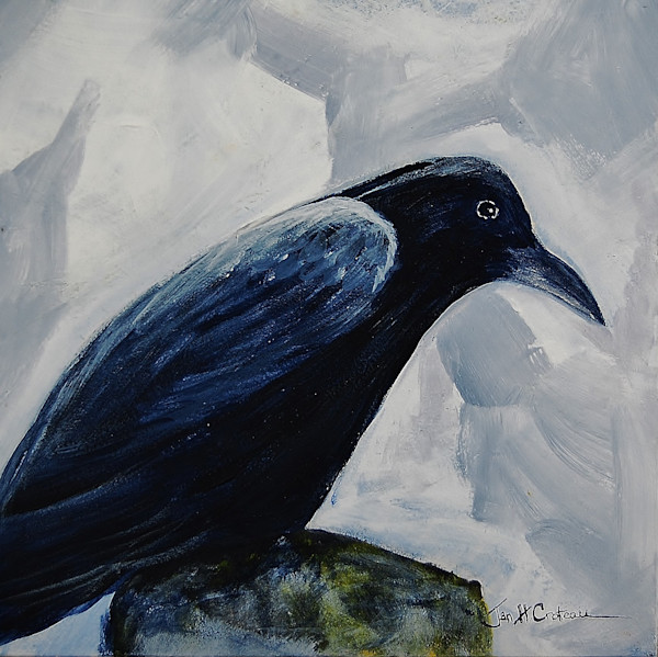 Birds of a Feather series of paintings for sale | Jan H Croteau Art