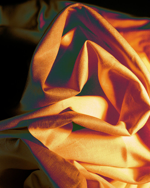 Fabric Folds in Color