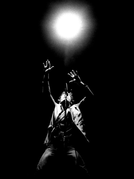 "Bruce Springsteen ""Aura"" by Richard E. Aaron, Limited Edition Print"
