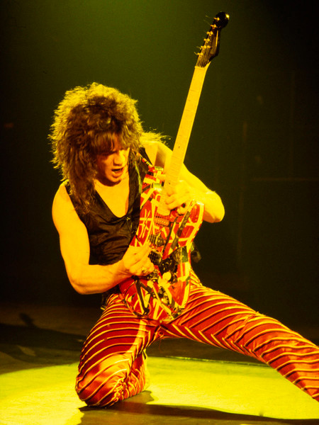 Eddie Van Halen by Richard E. Aaron, Limited Edition Print