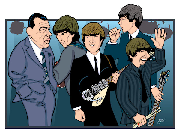 Beatles 40th Anniversary, by Anthony Parisi, Limited Edition Print