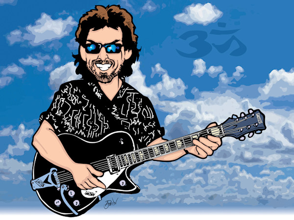George Harrison Cloud 9, by Anthony Parisi, Limited Edition Print