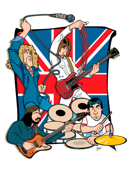 The Who, by Anthony Parisi, Limited Edition Print