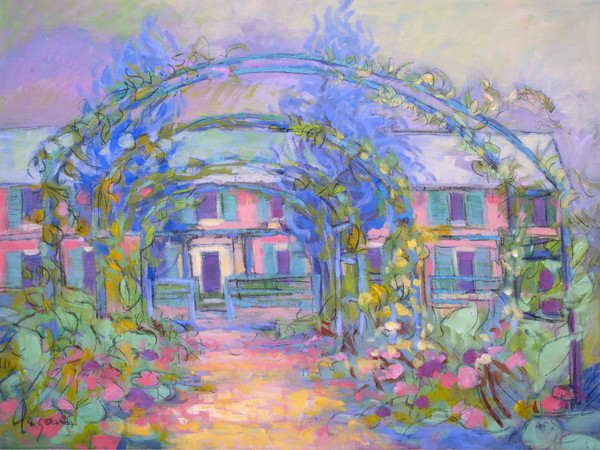 Clos Nomand | Giverny Painting