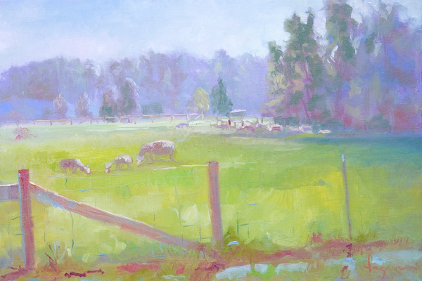 Fertile Pasture | Plein Air Landscape Painting