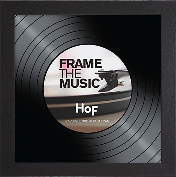 Record Album Frame - Coffee
