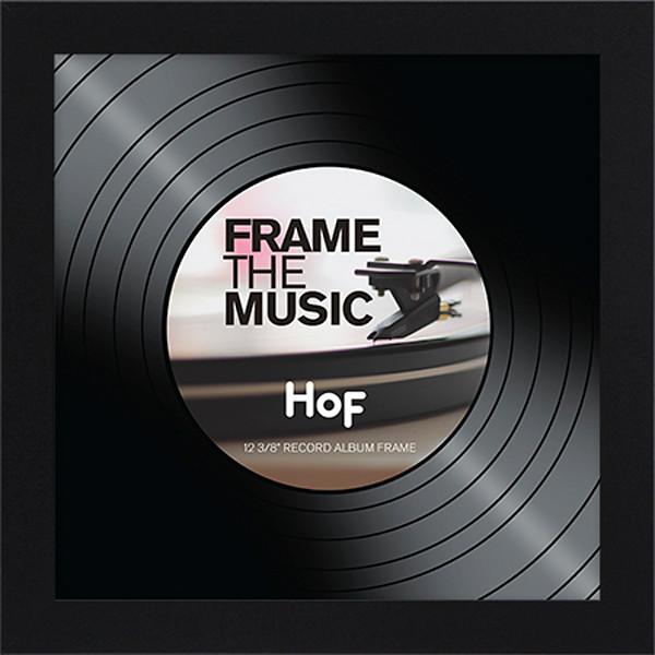 Record Album Frame - Black (9)
