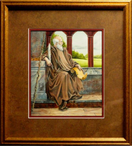The Hermit Nascien framed