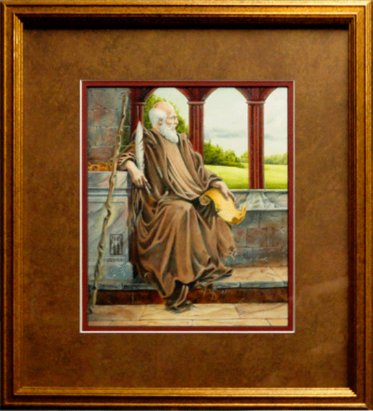 The Hermit Nascien framed