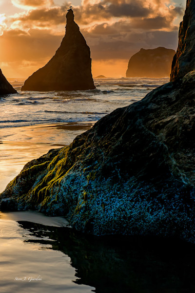 Bandon Beach Sunset (151175BSND8) Photograph for Sale as Fine Art