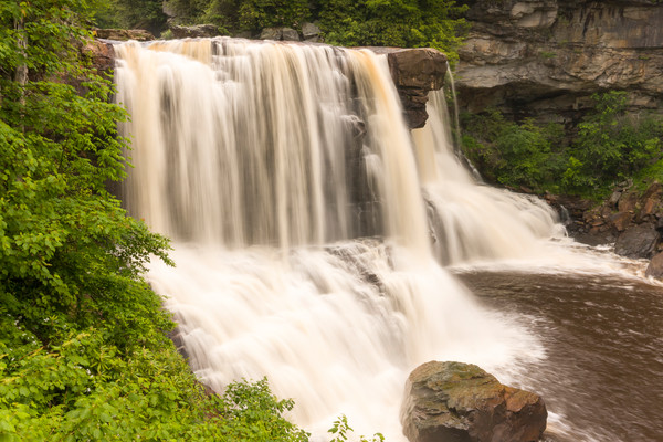 Waterfall Wall Art: Blackwater Falls