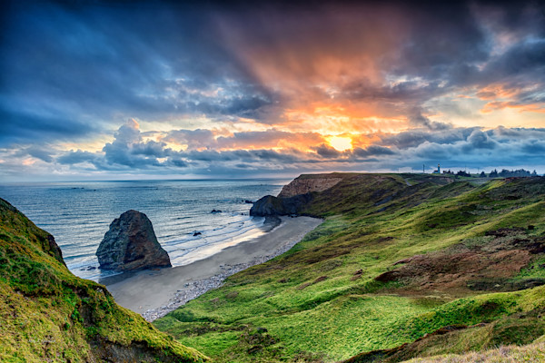 Cape Blanco Sunset (151172BSND8) Photograph for Sale as Fine Art