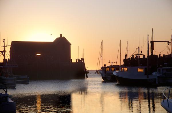 Motif 1, Rockport Harbor, Summer Solstice, Sunrise