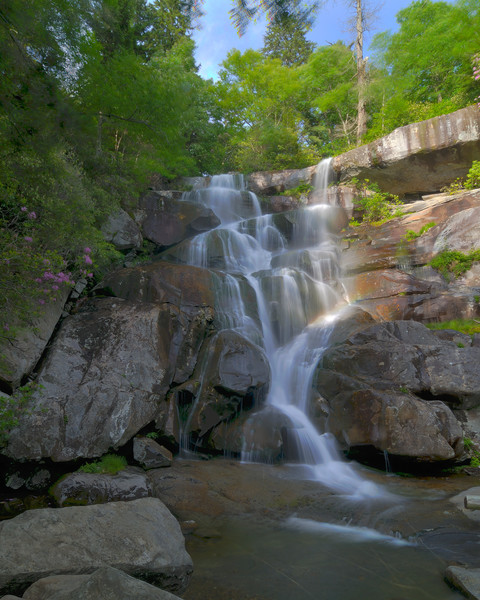 Ramsey Cascades.Great Smoky Mountains National Park