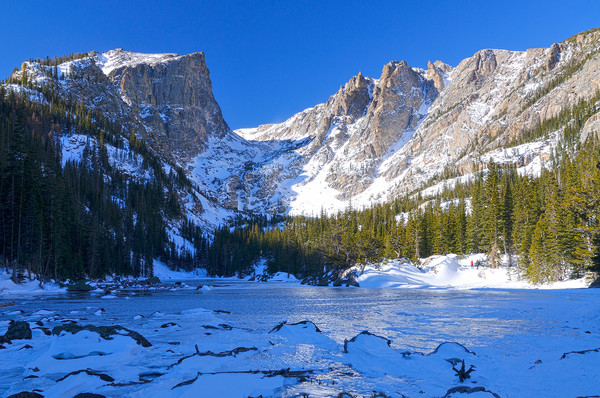 Dream Lake in Winter - Rocky Mountain National Park
