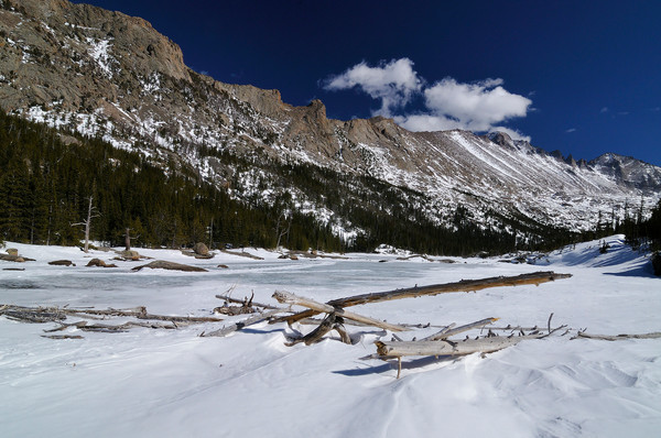Mills Lake in Winter