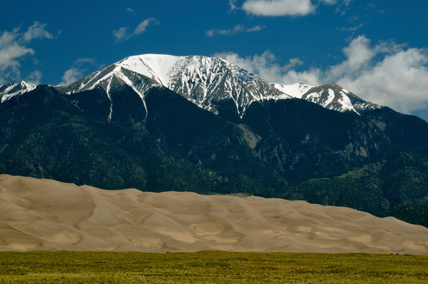 Mount Herard & the Dunefield - Great Sand Dunes National Park & Preserve