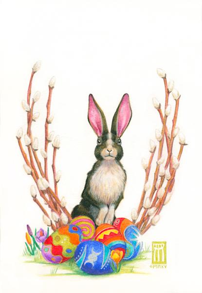 Ostara Bunny - Original
