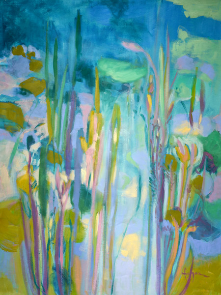Water Garden & Pond Paintings by Dorothy Fagan