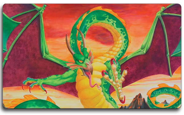 Shivan Dragon Playmat