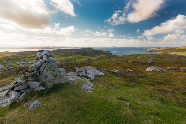 Carloway Cairn Photograph for Sale as Fine Art.