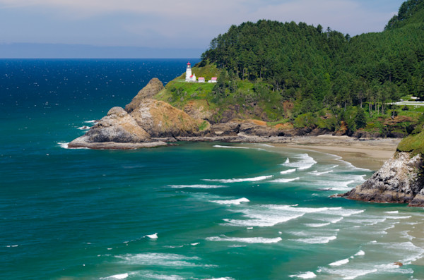 Heceta Head Lighthouse Photograph for Sale as Fine Art.