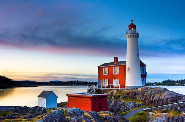 Fisgard Lighthouse Photograph for Sale as Fine Art.