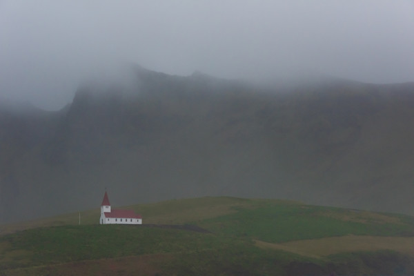 Icelandic Church Photograph for Sale as Fine Art.