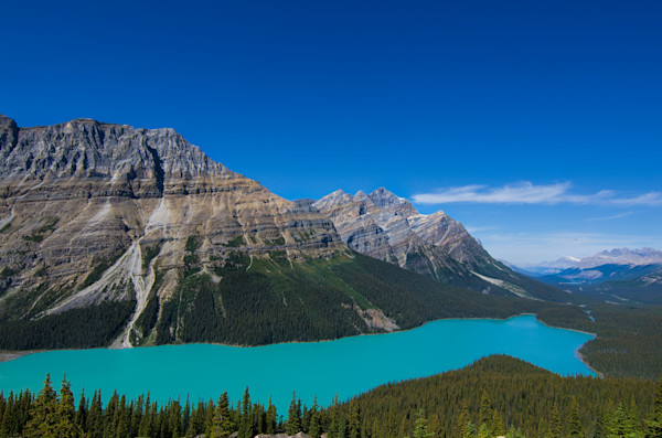 Peyto Lake Photograph for Sale as Fine Art.