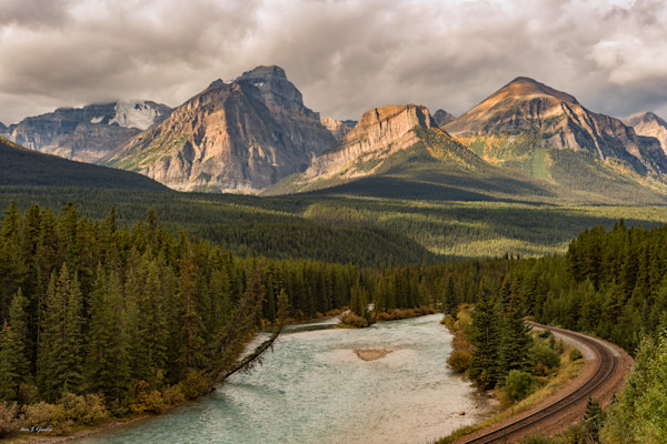 North to Jasper (131487LND8-P) Photograph for Sale as Fine Art Print